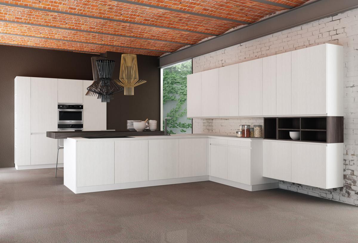 Cucina moderna laccata Astra - Cogliati Arredamenti Merate