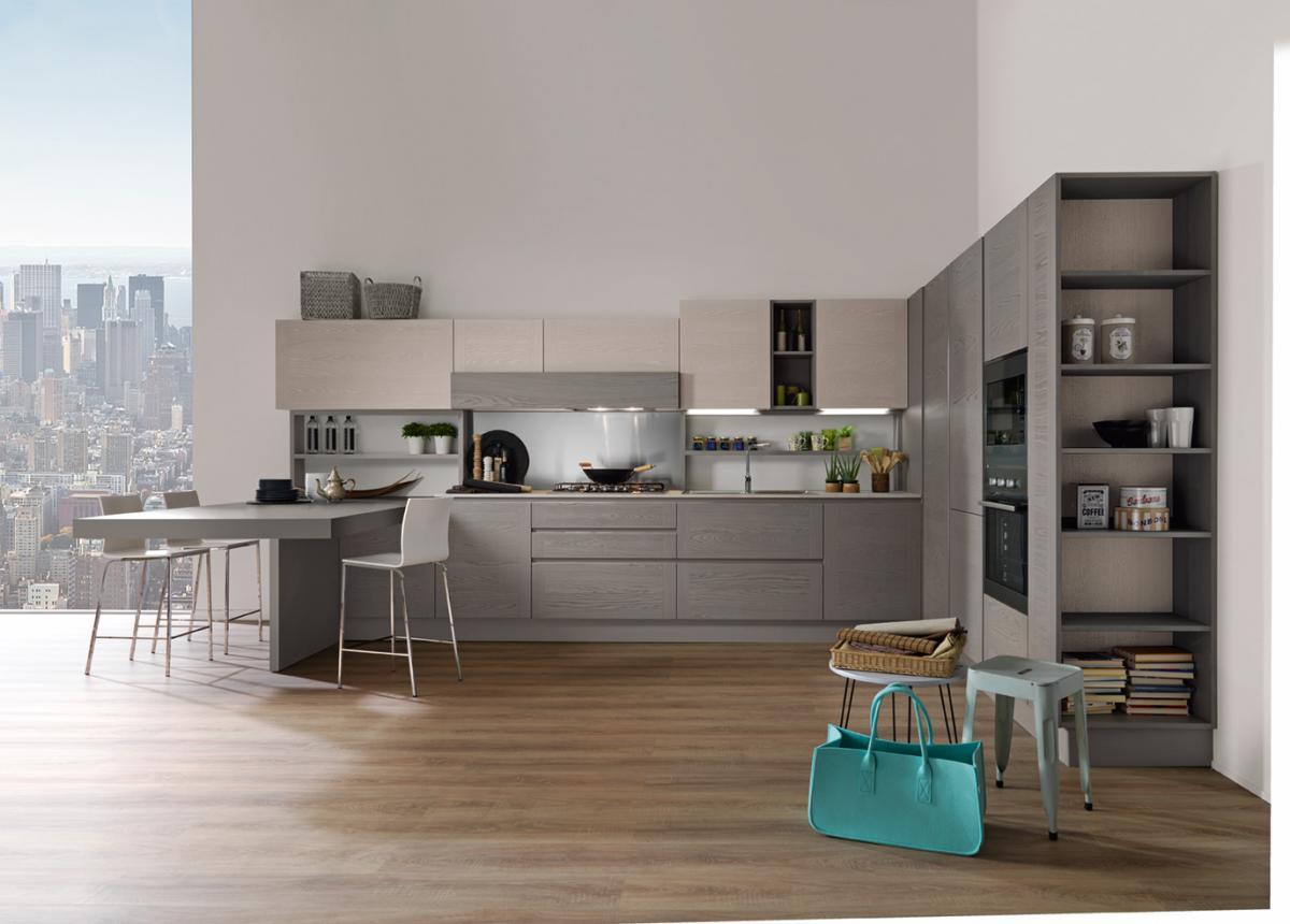 Cucina angolare Astra modello Dada - Cogliati Arredamenti Merate