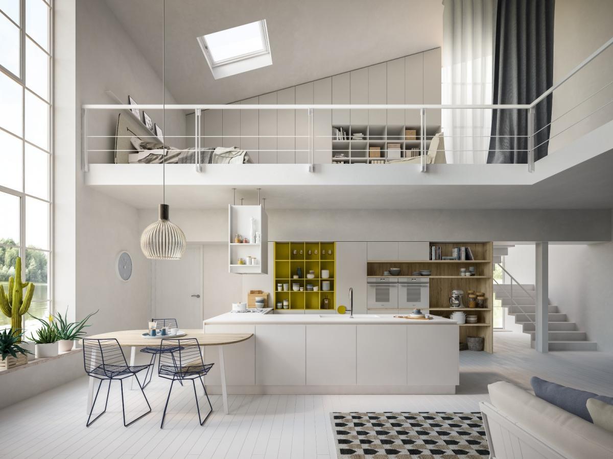 Cucina design astra xxl ad ottimi prezzi cogliati for Cucine living prezzi